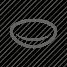 eye, lens, optical, vision icon