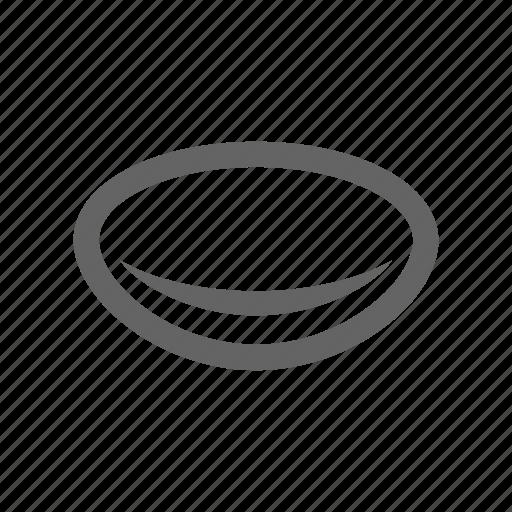 Lens, optical, eye, vision icon