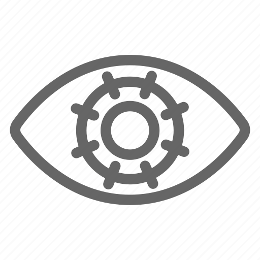 Central corneal, corneal, eye, iris, medical, stiches, surgery icon - Download on Iconfinder