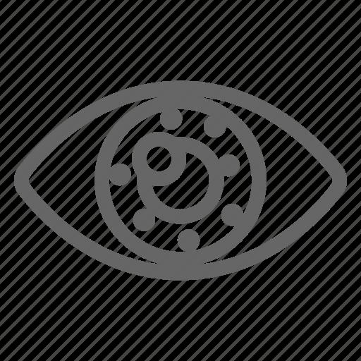 Corneal, dot, eye, iris, limbal transaplantation, surgery, tissue icon - Download on Iconfinder
