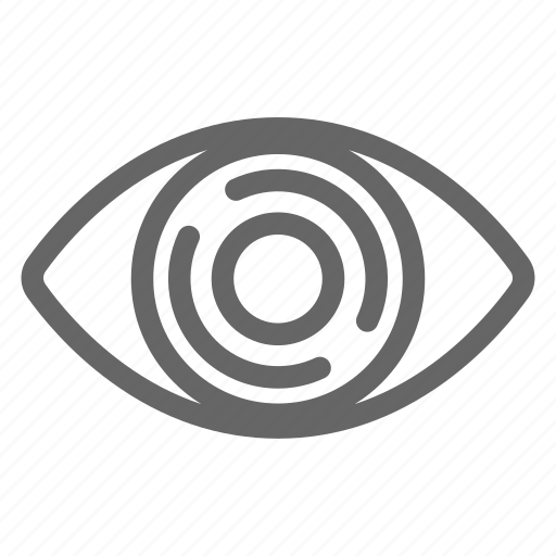 Corneal, diseases, eye, intrastromal corneal ring, ring, treatment icon - Download on Iconfinder