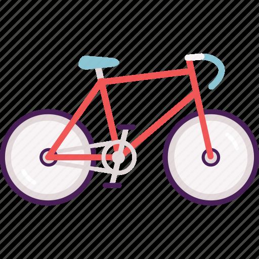 activity, bike, cycle, cycling, road, road bike, transportation icon