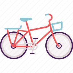 bike, commuter bike, cycle, road, roadsters, transportation icon