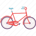 bike, city bike, cycle, modern, transportation, wheel icon