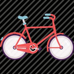 bike, city bike, cycle, modern, transportation, wheel icon