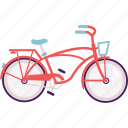 activity, bike, cruiser bike, cycle, cycling icon