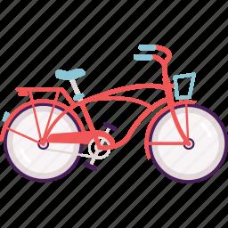 activity, bike, cruiser bike, cycle, cycling icon