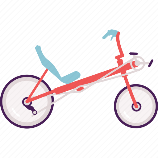Activity, bike, cycle, cycling, modern, recumbent icon - Download on Iconfinder