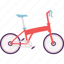bike, cycle, cycling, folding bike, transportation icon