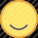 emotion, face, good icon
