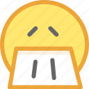 emotion, face, smiley icon