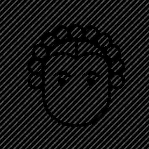 avatar, girl, hair style, woman icon