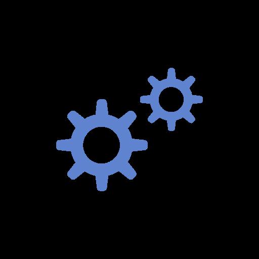 edit tool bar, navigate, notification, settings icon