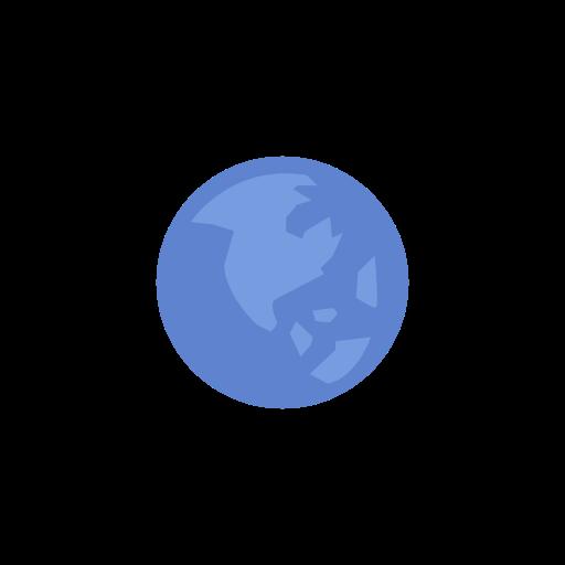 earth, globe, notification, world map icon