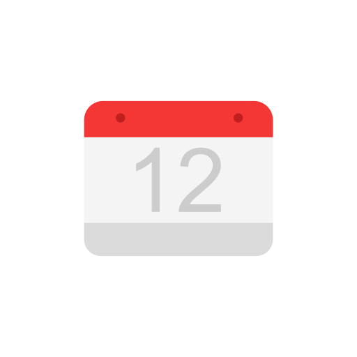 calendar, date, events, twelve icon