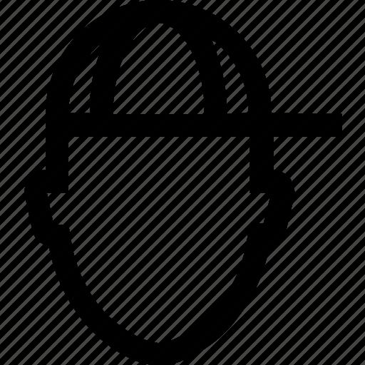 avatar, cap, child, face, hat, kid, man icon