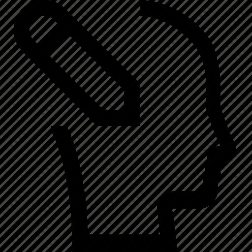 avatar, female, male, man, pencil, woman, write icon