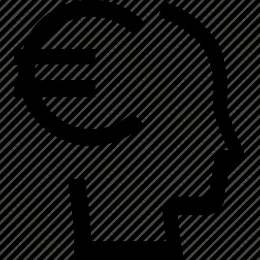 avatar, euro, face, female, male, man, woman icon