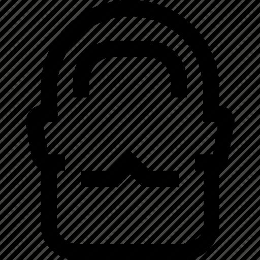 avatar, beard, face, hair, male, man, short icon