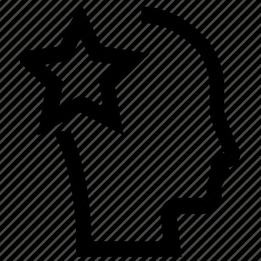 avatar, face, female, male, man, star, woman icon