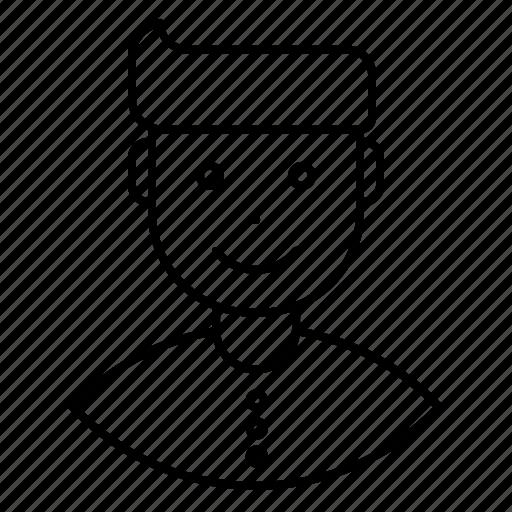 avatar, employee, expression, feeling, happy, man icon