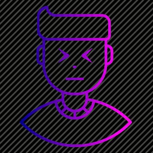 avatar, cry, employee, expression, feeling, man icon