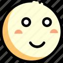 emotion, face, facial expression, smile icon