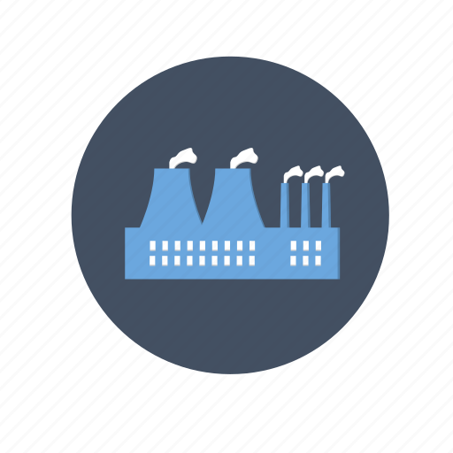 dust, factory, gas, industry, oil, plant, pollution icon