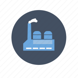 factory, gas, industry, oil, plant icon