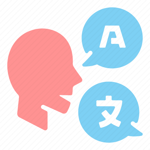 communication, dictionary, education, faculty, international, language, translation icon