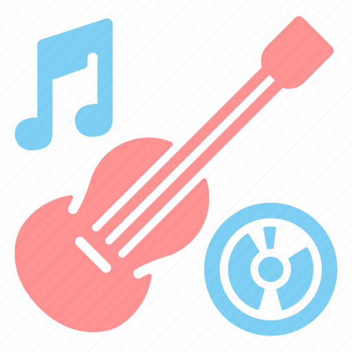 guitar, instrument, music, musical, soing, soundclef icon