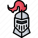 fairy, fantasy, helmet, knight, legend, tale icon