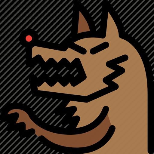 animal, fairy tale, kid, story, wolf icon