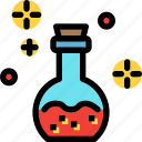 bottle, fairy tale, kid, potion, story icon