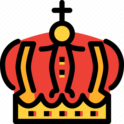 crown, fairy tale, kid, king, story icon