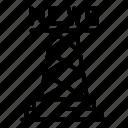 border, business, computer, man, metal, news, tower icon
