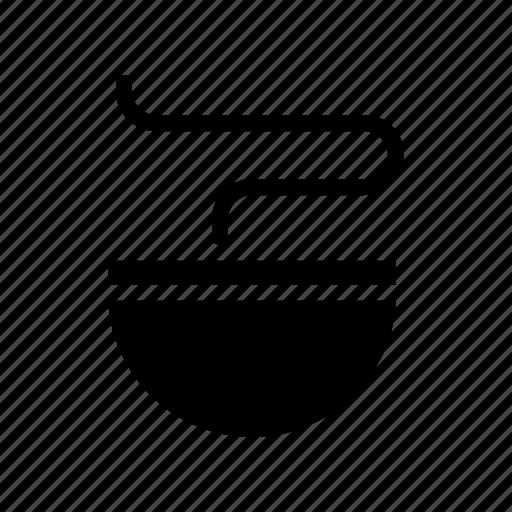 bowl, hot, noodles, soup icon