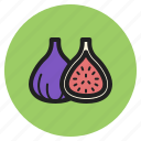 fruits, mulberry, berry, fig, fall, vegetables icon