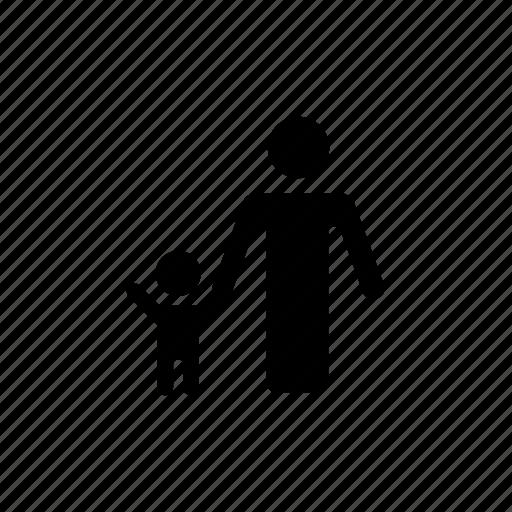 boy, child, family, father, happy, man, son icon
