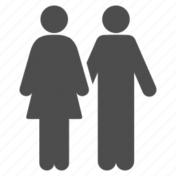 adult pair, couple, family, love, marriage, social relations, wedding icon