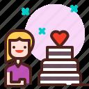 birthday, life, love, partner, sibling icon