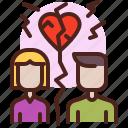 broke, life, love, partner, sibling icon