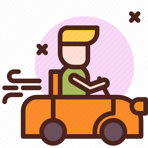 car, life, love, partner, sibling, toy icon