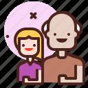 girl, grandparent, life, love, partner, sibling icon