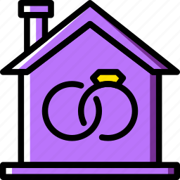 family, home, marriage, people icon