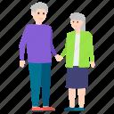 aunt, grandmother, grandparents, senior citizens, siblings icon