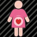 child, enceinte, gravid, impregnate, pregnant, with