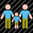 boy, family, gender, men, parents, same