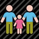 family, gender, girl, men, parents, same