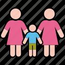boy, family, gender, parents, same, women